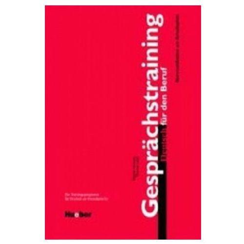 Książki do nauki języka, Gesprchtraining Deutsch fr den Beruf (opr. miękka)