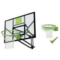 Koszykówka, EXIT GALAXY zestaw stacjonarny do koszykówki kosz z regulowaną tablicą i uchylną obręczą