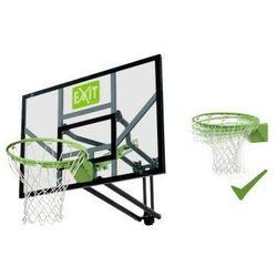 EXIT GALAXY zestaw stacjonarny do koszykówki kosz z regulowaną tablicą i uchylną obręczą