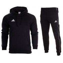 Dres kompletny Adidas meski spodnie bluza Core 18 CE9068 / CE9074