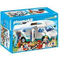 Klocki dla dzieci, Playmobil FAMILY FUN Rodzinne auto kempingowe 6671