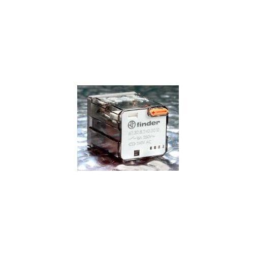 Przekaźniki, Przekaźnik mocy 16A 2 CO (DPDT) 24 V DC Finder 62.32.9.024.0070