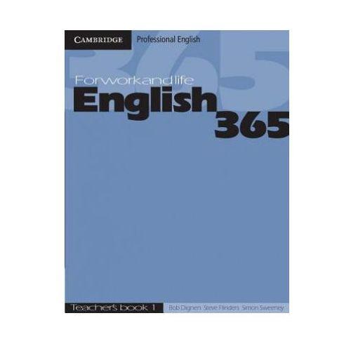 Książki do nauki języka, English 365 1. Książka Nauczyciela (opr. miękka)