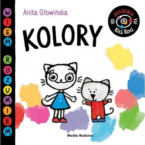 Książki dla dzieci, Akademia Kici Koci.Kolory (opr. twarda)