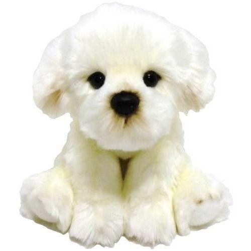 Pluszaki zwierzątka, Fluffy Fam pies Bichon 30cm