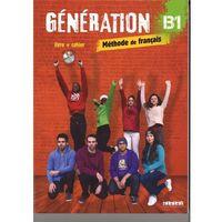 Książki do nauki języka, Generation B1 podręcznik + ćwiczenia + CD mp3 + DVD - Marie-Noelle Cocton (opr. miękka)