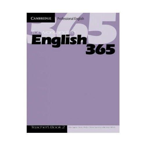 Książki do nauki języka, English 365 2 Książka Nauczyciela (opr. miękka)