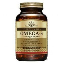 Omega-3 Potrójna Siła 50 kaps.