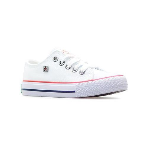 Pozostałe obuwie dziecięce, Trampki Big Star W374001 Białe