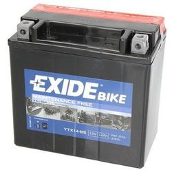 Akumulator EXIDE BIKE AGM YTX14-BS