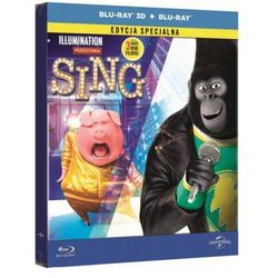 Sing (Blu-ray 3D Steelbook)