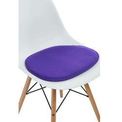 Poduszka na krzesło Side Chair fioletowa - D2 Design - Zapytaj o rabat!