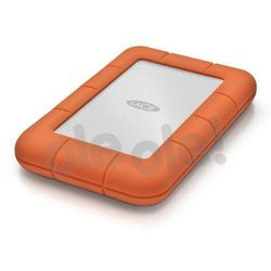 LACIE RUGGED 2TB USB-C USB3.0 Drop- crush- and rain-resistant for all-terrain use orange