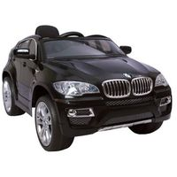 Pojazdy na akumulator, HECHT BMW X6 BLACK SAMOCHÓD TERENOWY ELEKTRYCZNY AKUMULATOROWY AUTO JEŹDZIK POJAZD ZABAWKA DLA DZIECI + PILOT DYSTRYBUTOR - AUTORYZOWANY DEALER HECHT promocja (-7%)