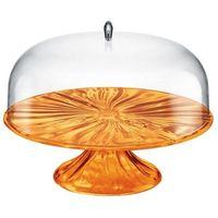 Tace i patery, Guzzini - Aqua - patera na ciasto 33,40 cm, pomarańczowy - pomarańczowy