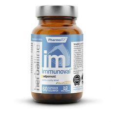 Immunoval odporność z dodatkiem BioPerine 60 kapsułek Vcaps PharmoVit Herballine