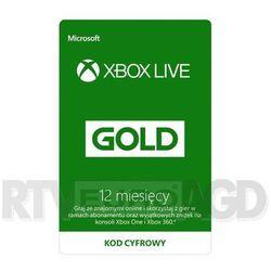 MS ESD XBOX LIVE 12 MONTH GOLD WW ONLINE ESD R15 Darmowy transport od 99 zł | Ponad 200 sklepów stacjonarnych | Okazje dnia!