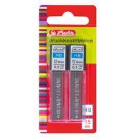 Pozostałe artykuły szkolne, Grafity rysiki wkłady ołówka 0,5mm 24szt HERLITZ - 0,5mm