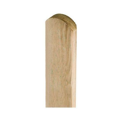 Pozostałe rośliny i hodowla, Sztacheta drewniana 80 x 7 x 2 cm frezowana STELMET