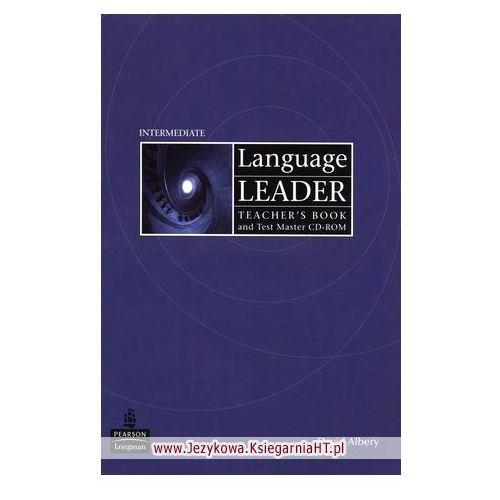 Książki do nauki języka, Language Leader Intermediate Teacher's Book (książka nauczyciela) plus Test Master CD-ROM (opr. miękka)