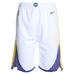 Nike Performance SWINGMAN ASSOCIATION SHORT Krótkie spodenki sportowe white/yellow