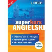 Książki do nauki języka, Angielski superkurs nowy kurs z rozmówkami+cd (opr. miękka)