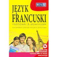 Książki do nauki języka, Język francuski rozmówki & słowniczek (opr. miękka)