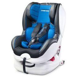 Fotelik samochodowy Defender Plus IsoFix 0-18 kg Caretero + GRATIS (niebieski)