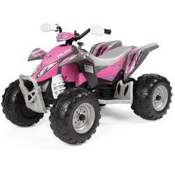 PEG PEREGO quad dla dzieci Polaris Outlaw Pink Power