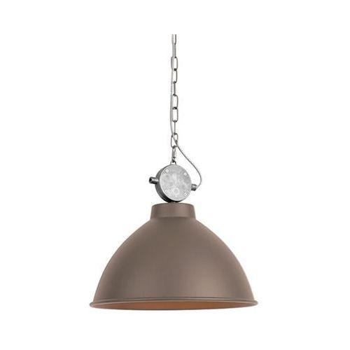 Lampy sufitowe, Lampa wisząca brązowa - Anterio 38