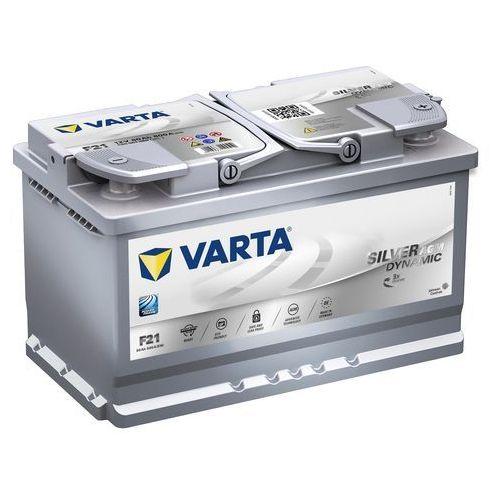 Akumulatory samochodowe, Akumulator VARTA F21 Start&Stop 80Ah 800A L-