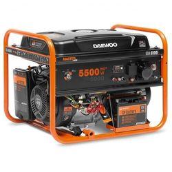 Agregat prądotwórczy benzynowy DAEWOO GDA 6500E