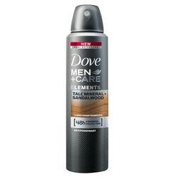 Dove Dezodorant dla mężczyzn Minerals & Sandlewood Men + Pielęgnacja 150 ml