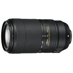 Obiektyw NIKON AF-P Nikkor 70-300 mm f/4.5-5.6E ED VR DARMOWY TRANSPORT