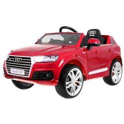 Audi q7 new quattro s-line czerwony lakier samochód dla dziecka