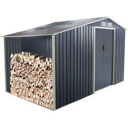 Altana ogrodowa z galwanizowanej stali w kolorze szarym AGATO 12,95 m2