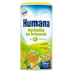 HUMANA 200g Herbatka na brzuszek Po 4 miesiącu