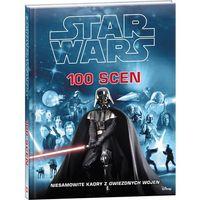 Książki dla dzieci, STAR WARS 100 SCEN SWH-1 + zakładka do książki GRATIS (opr. twarda)