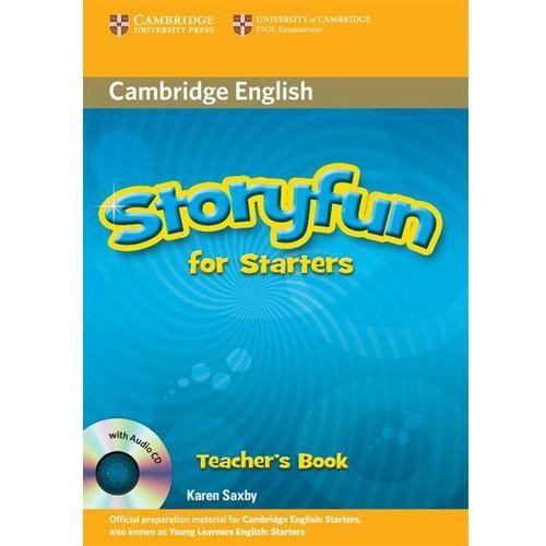 Książki do nauki języka, Storyfun for Starters, Movers, Flyers Starters Teacher's Book (książka nauczyciela) with Audio CDs (2) (lp) (opr. miękka)