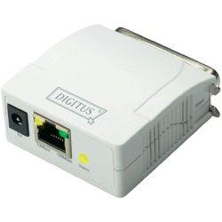 Serwer wydruku Digitus DN-13001-1, złącze szeregowe, LAN RJ45