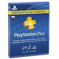 Kody i karty przedpłacone, Karta SONY PlayStation Plus 365 dni