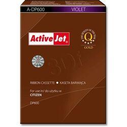Kaseta barwiąca A-DP600 fioletowa do kas fiskalnych (Zamiennik Citizen DP600)