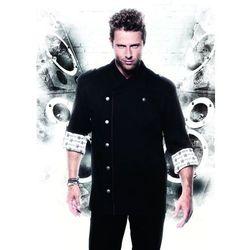 Bluza kucharska, rozmiar 56, czarna | KARLOWSKY, Rock Chef
