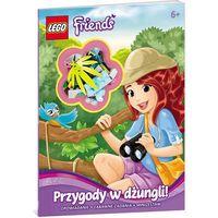 Książki dla dzieci, Lego Friends Przygody w dżungli (opr. miękka)